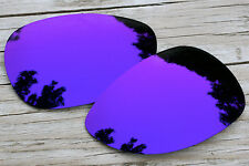 Deep Purple Violet Mirror Polarized Replacement Sunglass Lenses for Oakley Felon