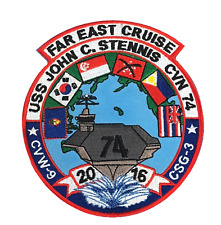USS John C. Stennis CVN-74 United States Navy USN Embroidered Patch