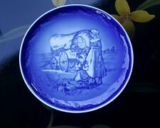 Royal Copenhagen Collector Plate 1988 1st Ed Western Trail American Mother's Day