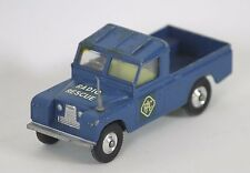 LAND ROVER 109 RAC RADIO RESCUE IN METAL. CORGI TOYS. REF 416.