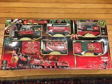 SANTA EXPRESS Train Set Christmas EZTEC 35 Piece In box from 2012 #37290