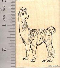 Llama rubber stamp J11913 WM Farm Wildlife
