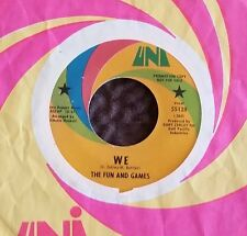 The Fun And Games : Gotta Say Goodbye (DJ 45) 1968 Psych