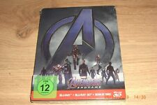 Avengers Endgame 3D Blu-Ray Steelbook Limited Edition NEU