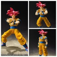 S.H.Figuarts Dragon Ball Z Red Super Saiyan God Red SS Son Goku Gokou Figure