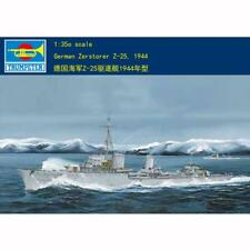 Us Stock Trumpeter 05321 1/350 German Z-25 1944 Destroyer Static Model Warship