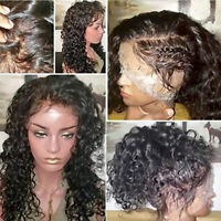 USA Wigs 100% Human Hair Wigs Curly  Full Lace Wigs-Lace Front Wigs For Women