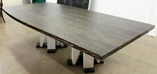 Grand 8 Foot Saluki Dining Table By Noted Artist Peter Gutkin Signed $68,000