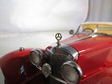 1/24 Franklin Mint Mercedes Benz Metal Hood Ornament Roadster