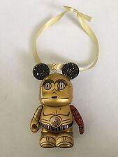 Disney STAR WARS The Force Awakens C-3PO Series 1 Vinylmation Christmas Ornament
