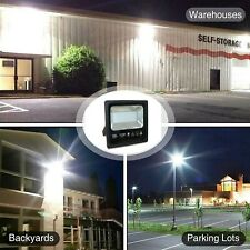 Extrastar LED Flood Light Outdoor Wall 50/80/100/150W Cold White Light IP65