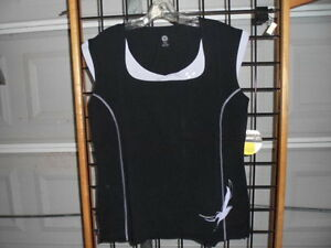 NOS Can Am Spyder Ladies Women Signature Sleeveless Black/Purple Top 4535911290