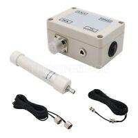 Mini Whip Active Antenna HF LF VHF SDR RX 10KHz-30MHz 12-15V+Cable Portable