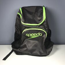 Speedo Large Teamster Backpack 35L Gry/Neon Green, Used Excellent Condition