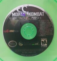 Nintendo GameCube NGC Disc Only Tested Mortal Kombat Deadly Alliance Ships Fast