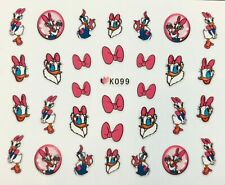 Nail Art 3D Decal Stickers Disney's Daisy Duck K099