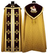Oro piviale gotica con stola Abbigliamento liturgico Gothic Cope K559-AGC16h9 it