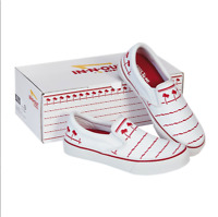 In-N-Out Burger Drink Cup Canvas Shoes Size 10 Mens SOLD OUT NIB California