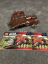 Lego Star Wars 7662 Trade Federation MTT 100% Complete with Instructions!