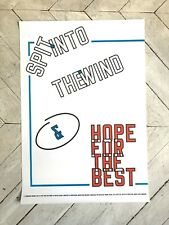 Rare Lawrence Weiner Offset Lithograph 2014