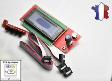 Ecran LCD 2004 lecteur SD pour ramps 1.4 imprimante 3d print Anet A8, etc...