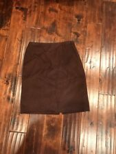 Marc Jacobs Brown 100% Cashmere A-Line Skirt, Size 8