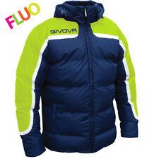 Givova Antartide Giubbotto Calcio Uomo Multicolore (blu/giallo Fluo) L (y3k)