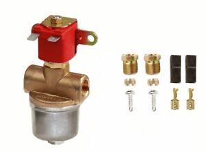 8 mm GAS LPG GPL SOLENOID SHUT OFF SAFETY VALVE WITH LIQUID GAS FILTER
