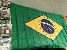 GIANT COUNTRY FLAG FOOTBALL 5ft X 3ft NEW BRAZIL USA ITALY OZ ARGENTINA