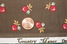 """COUNTRY MANOR"" CIVIL WAR ERA QUILT FABRIC BY THE YARD FOR MARCUS 3832-0113"