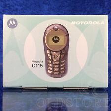 ►MOTOROLA C115◄ CELLULARE TELEFONO MOBILE NUOVO NEW VINTAGE RETRO PHONE TOP