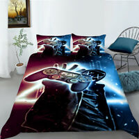 Bedding Set 3D Game Print Cool Colorful Game Style Duvet Cover&Pillowcase Hot