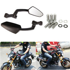 Motorcycle Street Fighter Naked Bike Chopper Black Angle Adjustable Side  Mirrors (Fits  2001 Cagiva Mito) 401abd4724362
