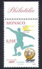 Monaco 2002 Luis Figo/Golden Ball/Football/Sports/Games/Animation 1v (n38568)