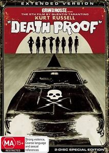 Death Proof : 2 Disc : NEW DVD * RARE OOP * FREE EXPRESS POST *