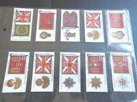 1930  Player REGIMENTAL & CAP BADGES  military set 50 cards Tobacco Cigarette