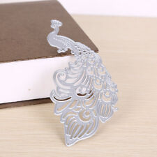 Peacock  Metal Cutting Dies Stencil Scrapbook Album Paper Card Emboss Craft^v^