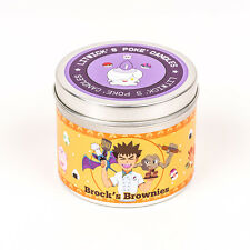 Pokemon brock's brownies Scented Candle - geeky gift ideas - pokemon candles fun