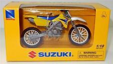 New Ray 1:18 Suzuki RMZ 450 Replica Die cast Toy Model Motocross Kids Gifts