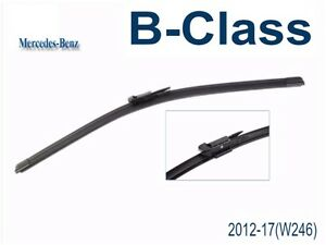 Windshield wipers for Mercedes-Benz B-Class 2012 - 2015 (W246)