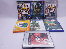 The Sims Platinum Scrabble Metal Gear Solid 3 Gran Turismo 3 Playstation 2 games