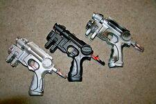 Nerf N-Strike Nite Finder EX-3 Dart Gun Pistol Blaster Custom Lot 3 Cosplay COOL