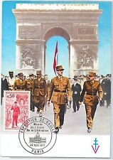 Postal History: Set Of 4 Maximum Card 51455 France 1947 Architecture