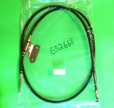 "Eton 650045 632668 E-ton 50 70 90cc ATV REAR BRAKE CABLE Outer=60.5""Inner=66.25"""