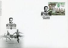 Portugal 2018 FDC Fernando Peyroteo Sporting CP 1v Cover Football Soccer Stamps