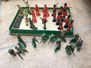 Box Of Toy Soldiers.