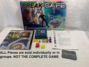 PICK-A-PART Mattel Break The Safe Board Game Replacement Pieces U-PICK