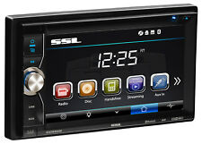 Sound Storm DDML28B Car Stereo - Bluetooth, MP3/USB/AUX, No CD/DVD Player, AM/FM