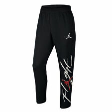 NWT NIKE JORDAN FLIGHT FLEECE TAPERED JOGGING SWEAT PANTS BLACK MEDIUM M $70
