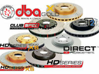 SALE- DBA2020 SLOTTED ROTORS FOR Holden Commodore VZ SSZ 320mm FRONT  PAIR